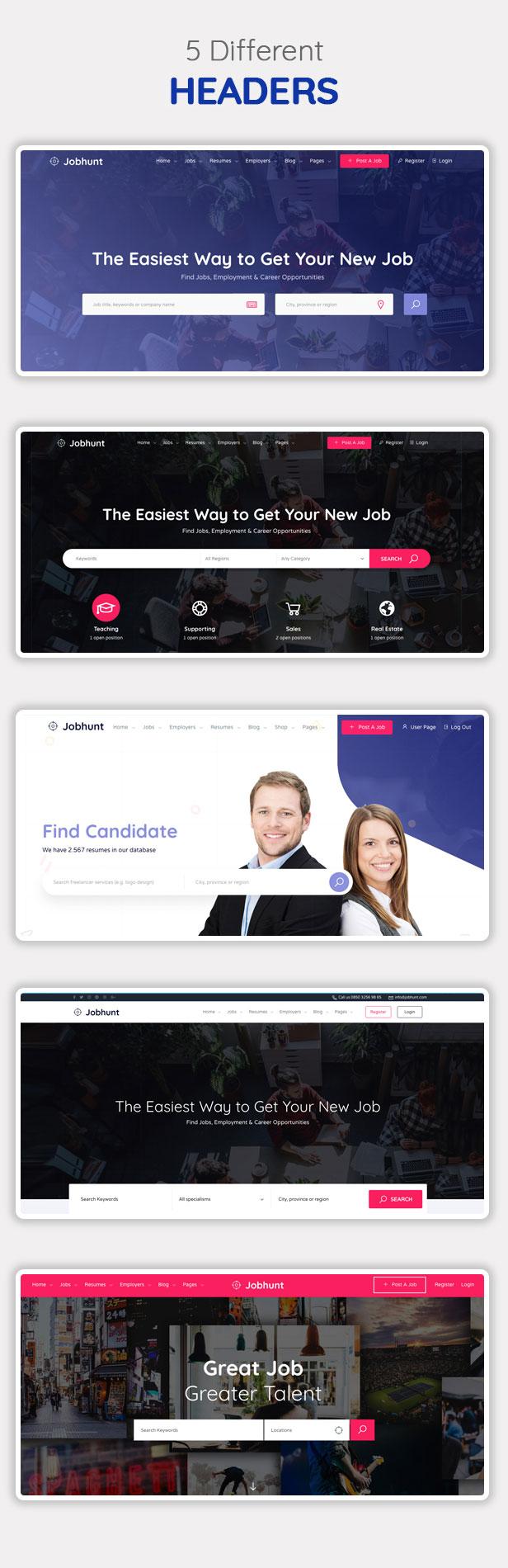 Jobhunt - Job Board WordPress theme for WP Job Manager - 9