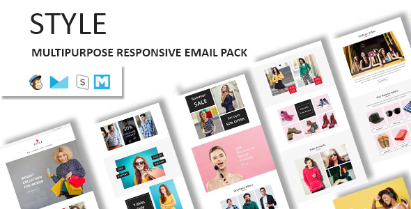 Digit - Multipurpose Responsive Email Template With Stampready Builder & Mailchimp Access - 5