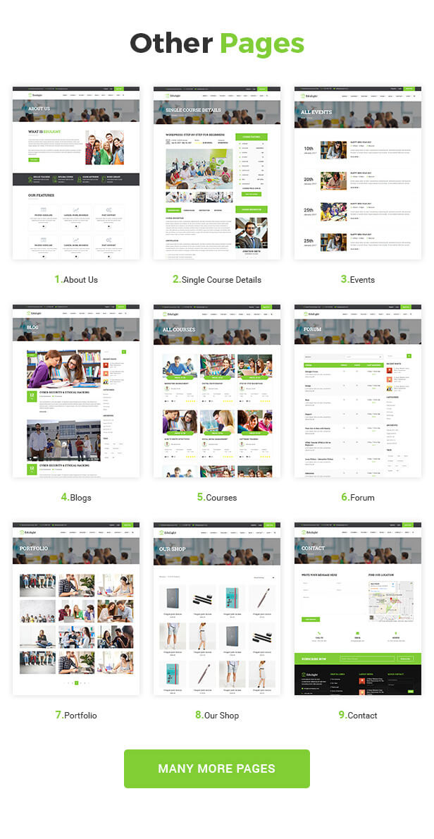 EduLight - Kids Education Template