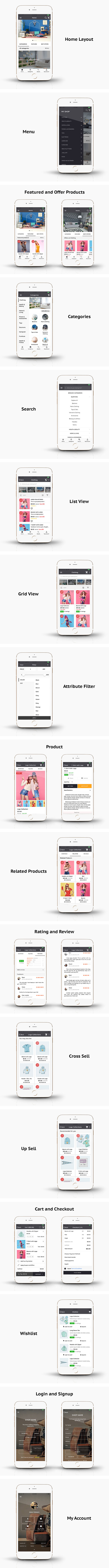 WooCommerce Mobile App ionic full application Lifestyle theme - 7