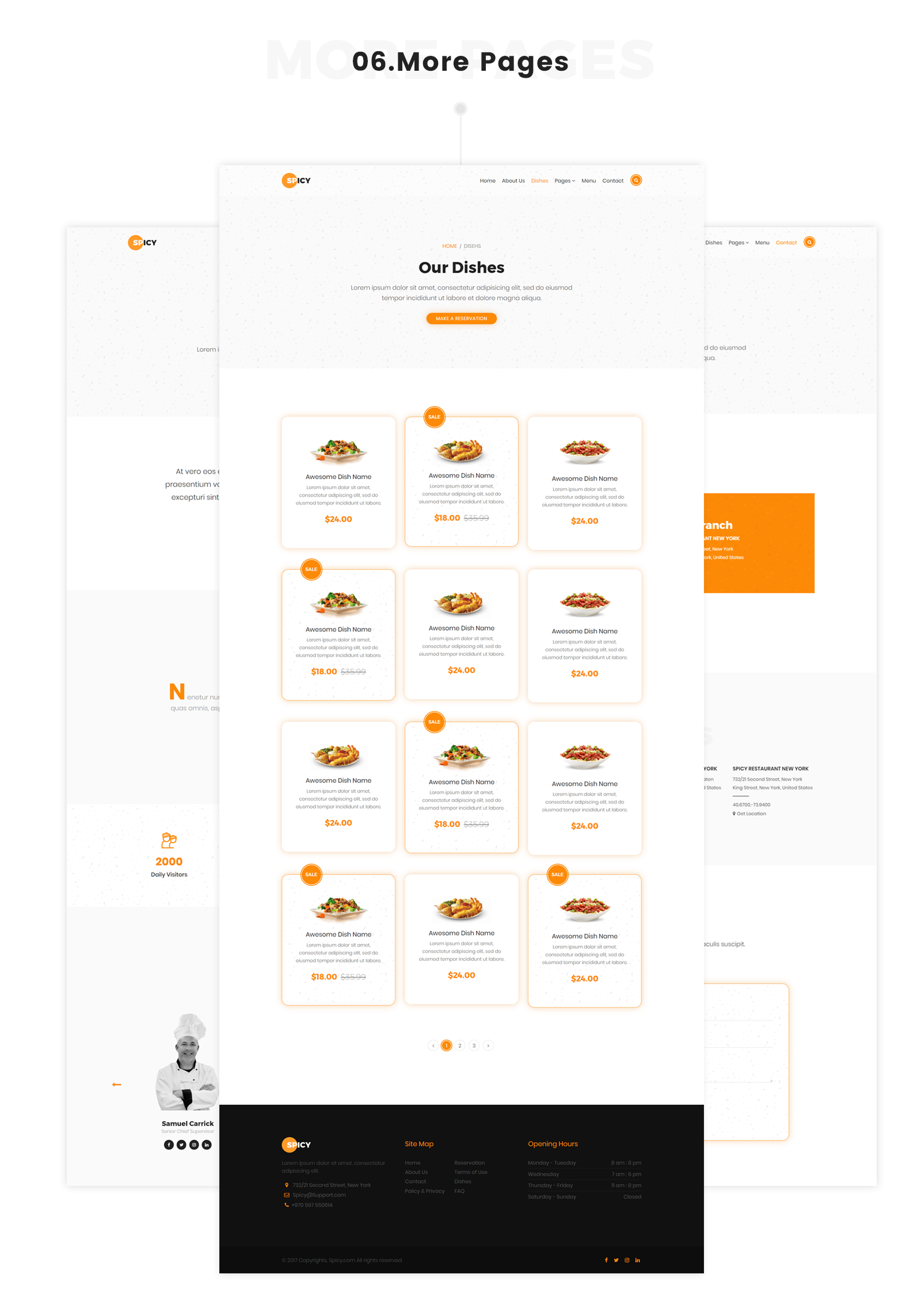 Spicy - Restaurant HTML5 Template - 7