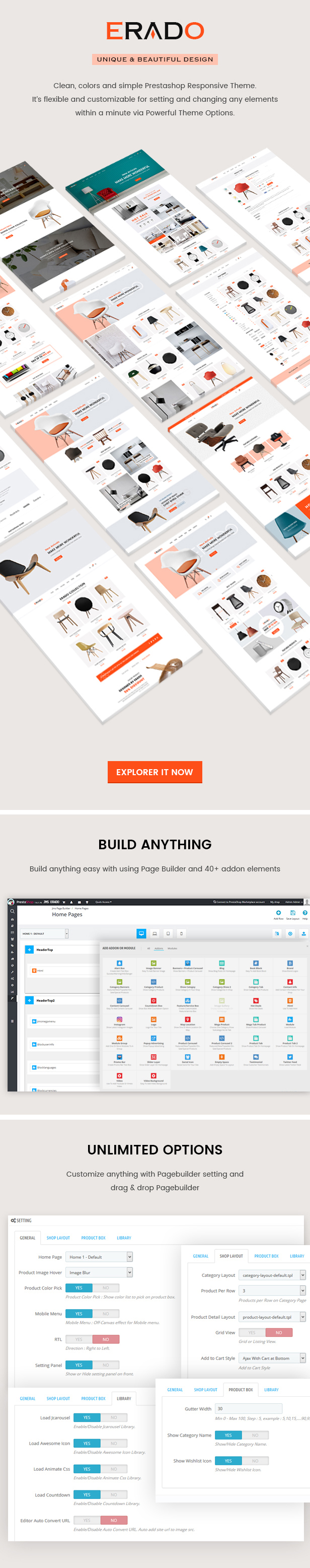 Erado Prestashop Theme