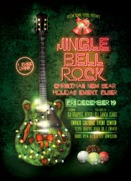 Jingle Bell Rock Flyer Template by Design Cloud