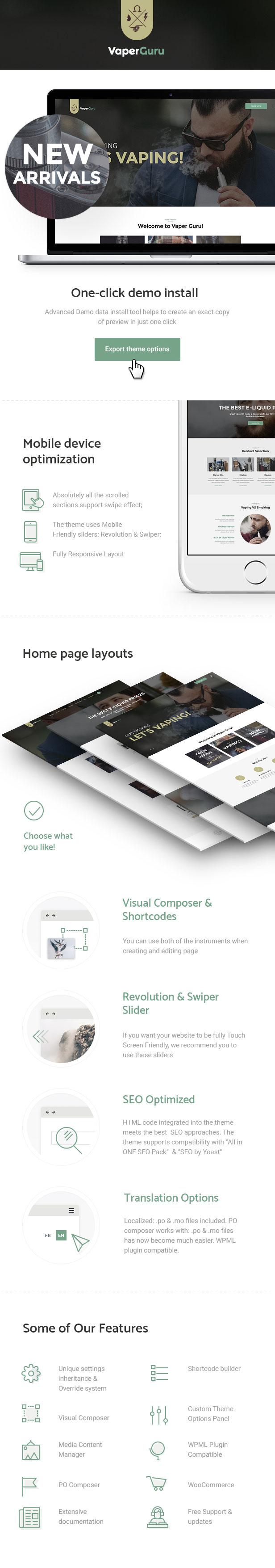 VaperGuru - Vapers Community & Vape Store WordPress Theme - 1