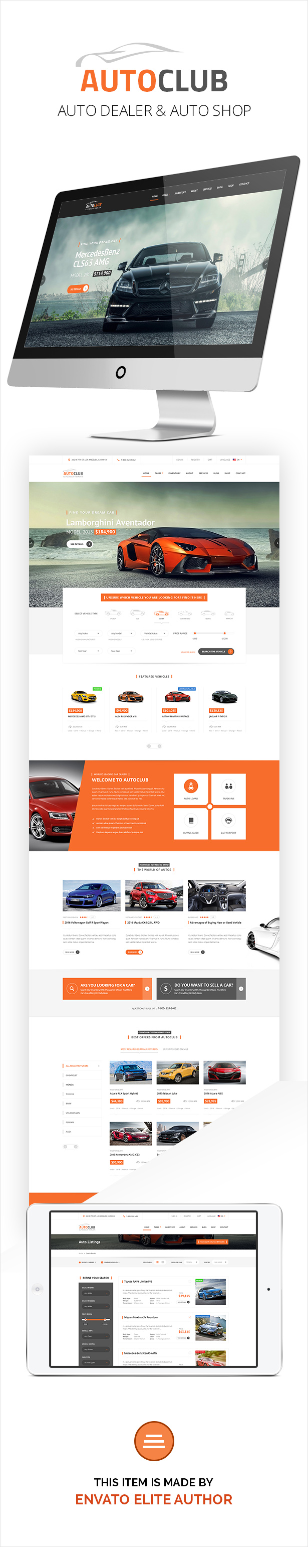 for car dealership websites and business or any corporate websites in this field this html template also provide solutions to buy or sell cars online