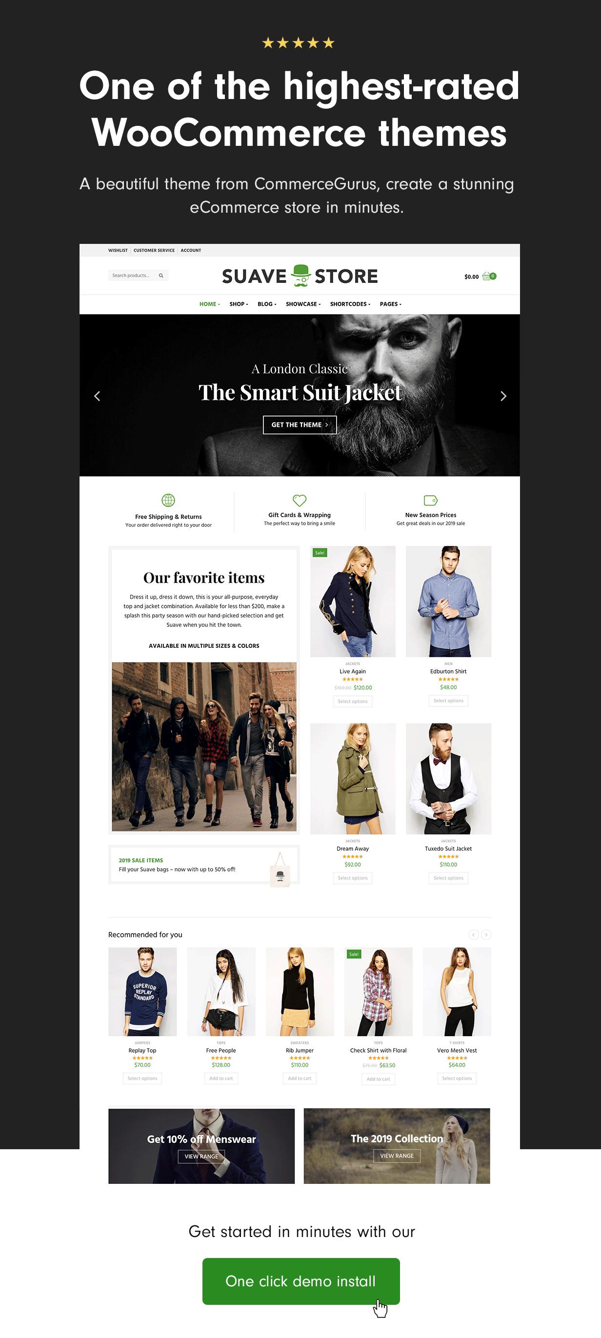 Fantastic WooCommerce theme