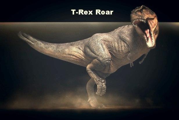 T-Rex Roar - AudioJungle
