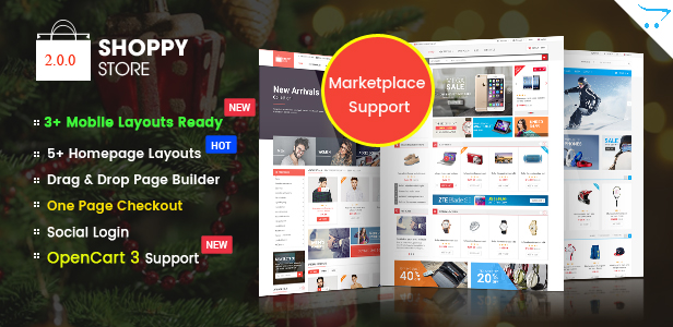ShoppyStore - Multipurpose eCommerce HTML5 Template - 1