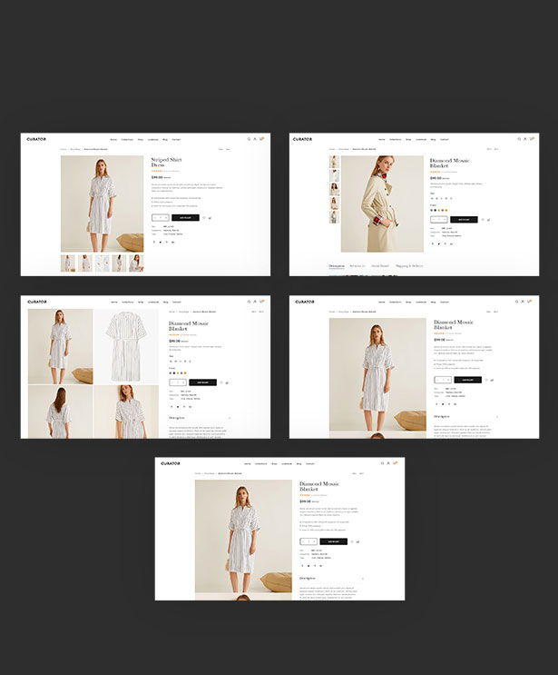 Attractive Product Pages Styles