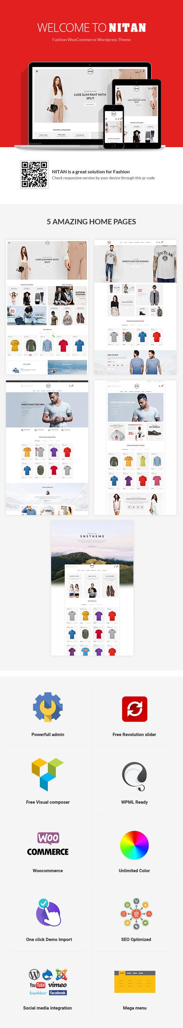 Nitan – Fashion WooCommerce WordPress Theme - 1