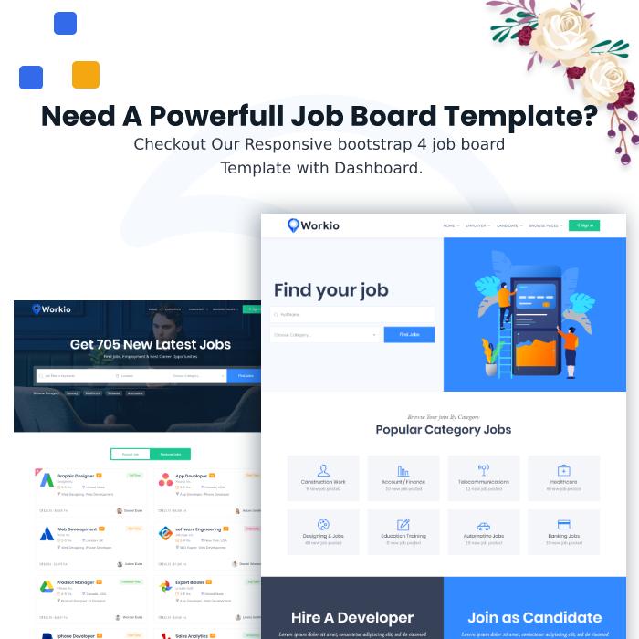 Job Stock - Job Board Template by themezhub | ThemeForest