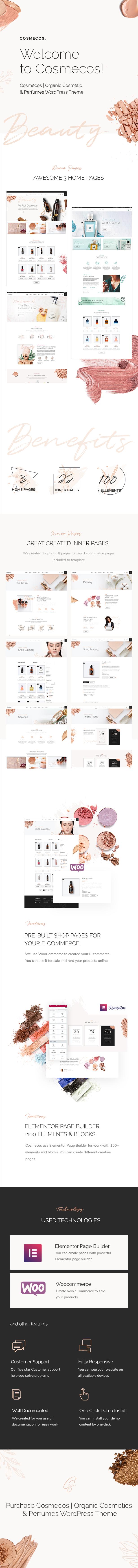 Cosmecos v1.1 | 美容化妆品和香水 WordPress 模板主题-好哇网