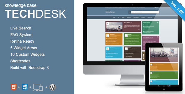 TimeDesk - Responsive Knowledge Base FAQ WordPress Theme - 17