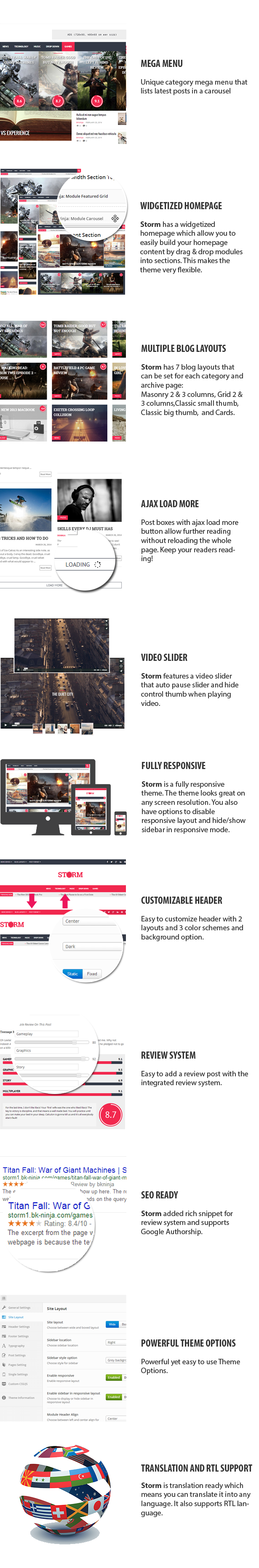 Storm - Clean Magazine & Blog Theme - 2