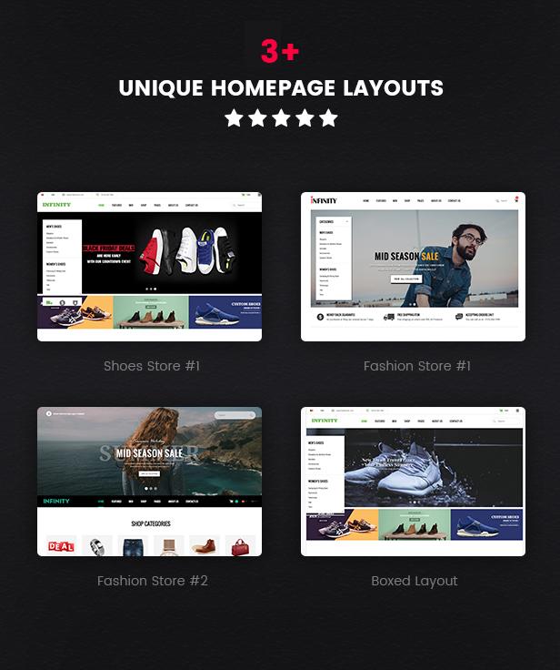 Infinity - Homepage