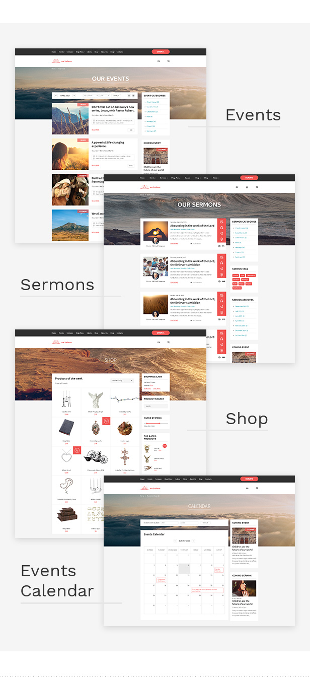 WeBelieve - Church, Charity, Nonprofit & Fundraising Responsive HTML5 Template - 10
