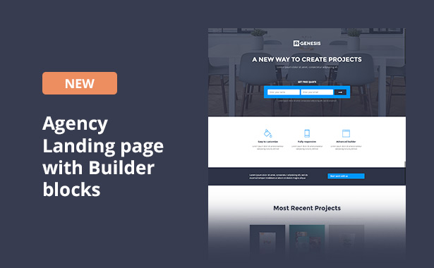 RGen Landing Page with Page Builder - 17