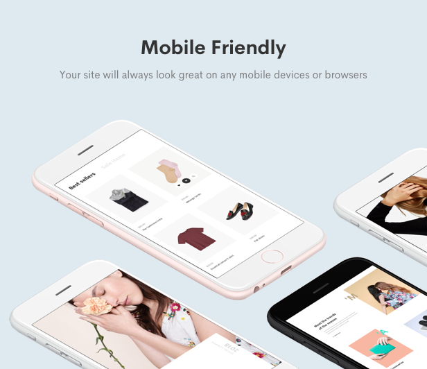 Minimal WooCommerce Shop WordPress Theme - Mobile Friendly