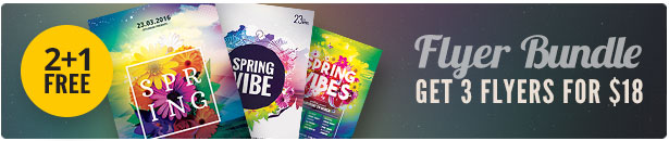 Spring Flyer Bundle Vol.02