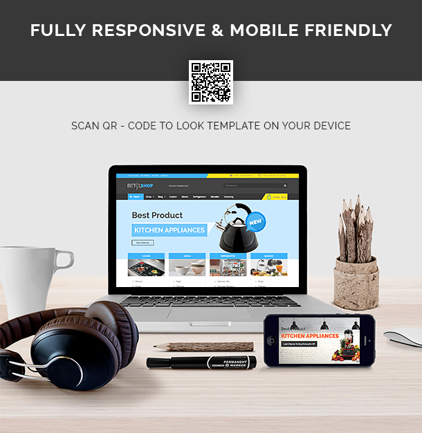 VG BetaShop - Kitchen Appliances WooCommerce Theme - 12