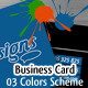 We Draw designs - Business Cardn - GraphicRiver Item for Sale