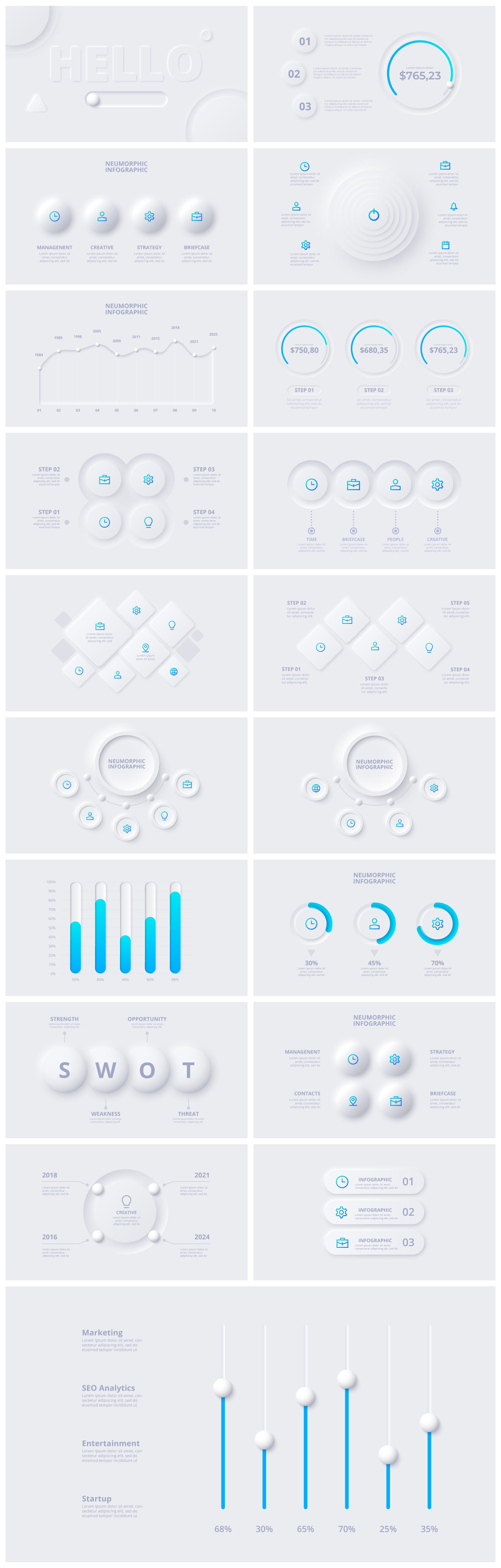 Multipurpose Infographics PowerPoint Templates v.5.0 - 53