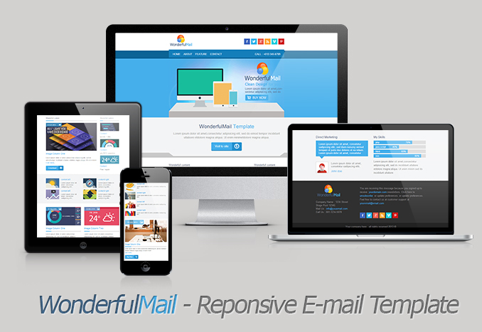WonderfulMail - Responsive Email Template