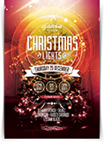 Christmas Lights Flyer