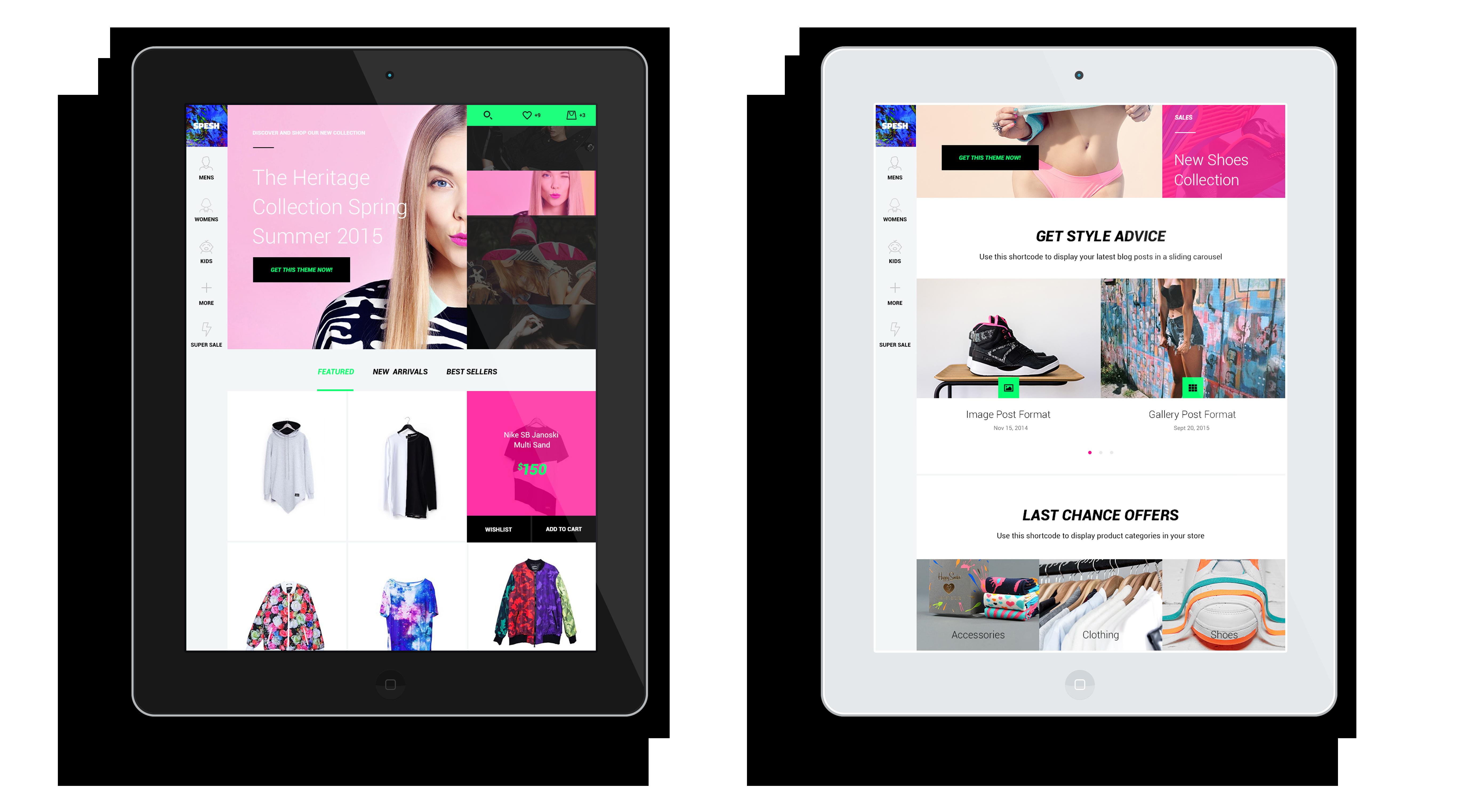 Spesh | Responsive eCommerce HTML Template - 7
