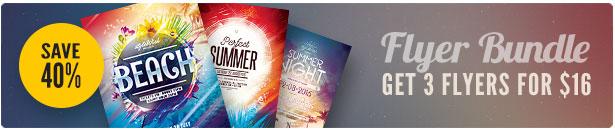 Summer Flyer Bundle Vol10