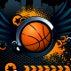 Basketball Grunge Background - 54