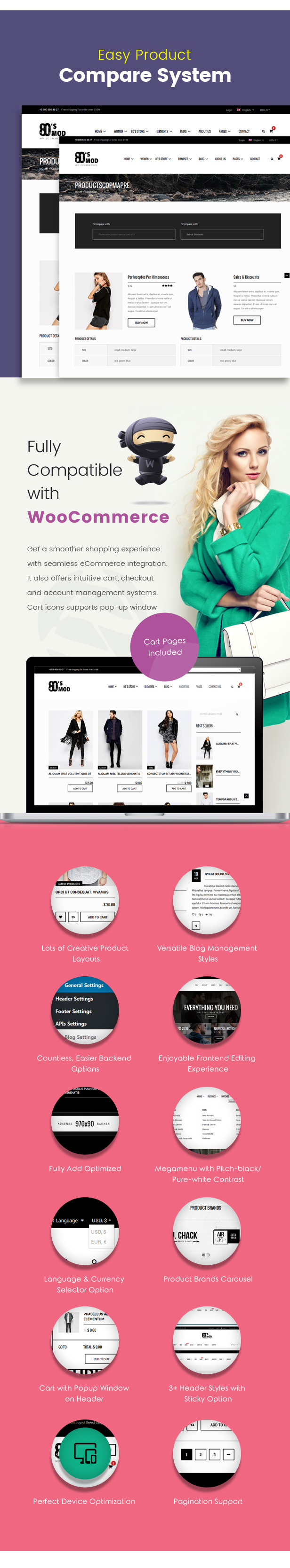 80's Mod - Build Your Store with A Vintage Styled WooCommerce WordPress Theme - 4