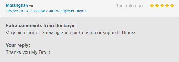 FlexyVcard - Responsive vCard Wordpress Theme - 2