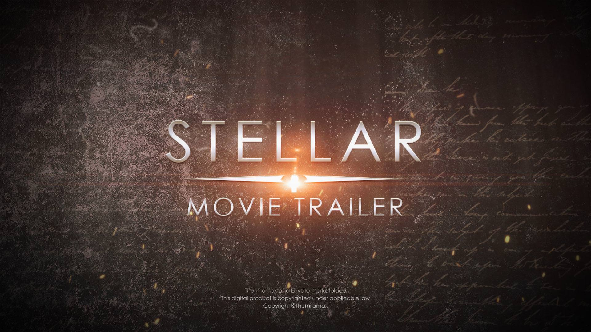 Stellar Movie Trailer By Themilamax Videohive
