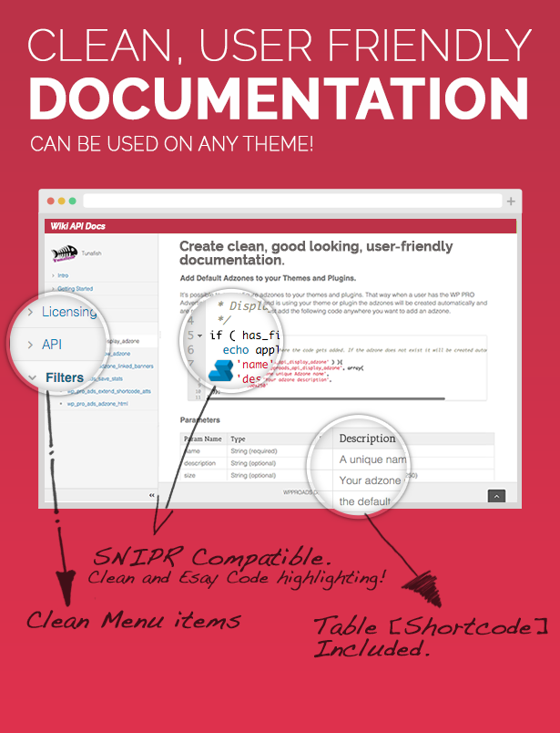 Create Clean Documentation