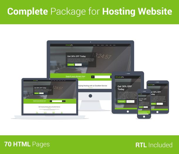 Hosting Pro - Hosting Business Website HTML5 Template - 8