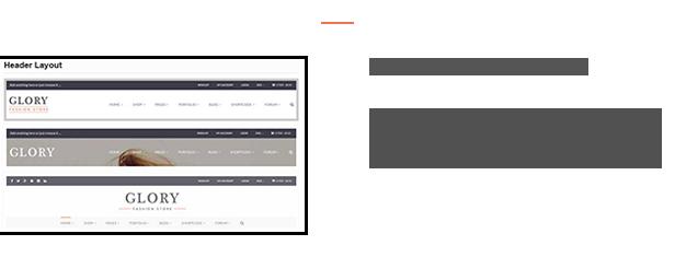 Advanced Header