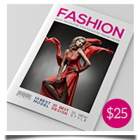 InDesign Magazine Template V1 - 1
