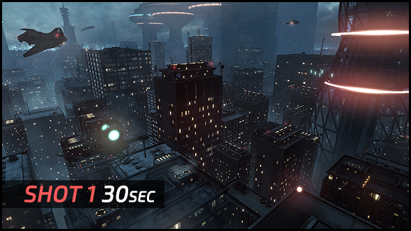 Replicant City - The Arrival (HD) - 1