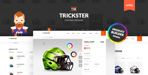 The Trickster - Multipurpose PSD Product Builder - 1