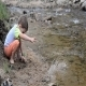 Girl Playing In Water - 47