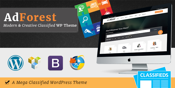 AdForest - Classified WordPress Theme - Directory & Listings Corporate