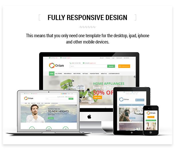 Orion :: Businesses & e-Commerce Joomla Template - 6