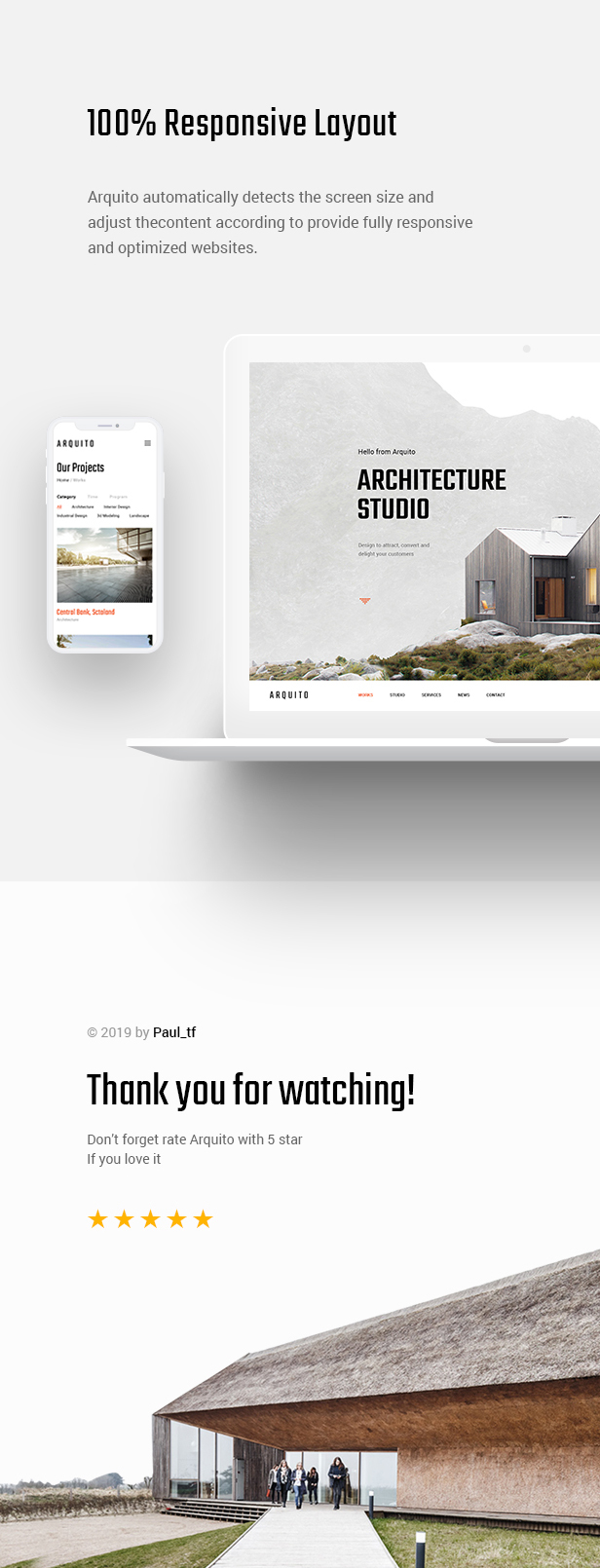 Arquito - 3D Architecture & Interior WordPress Theme - 11