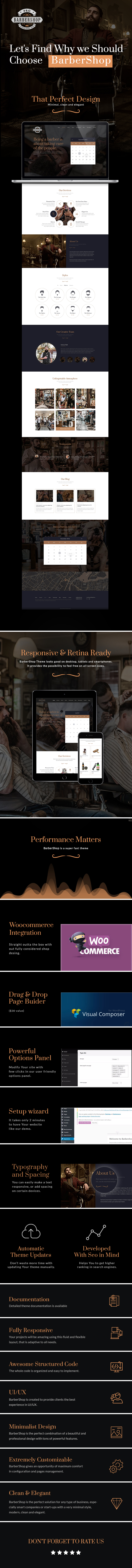 BarberShop - Hair Saloon Spa Tattoo HTML Template - 5