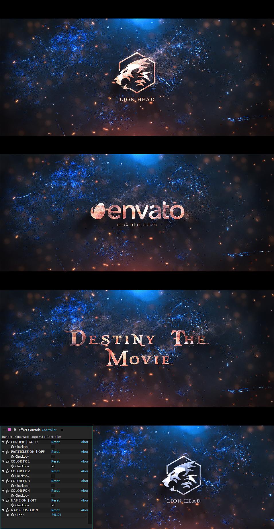 Cinematic Logo - 1
