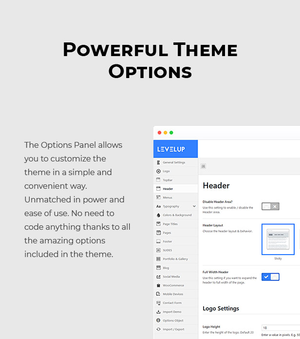 LEVELUP - Responsive Creative Multipurpose WordPress Theme - 12