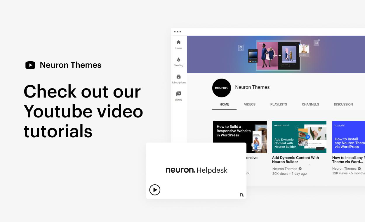 Kaon WordPress Theme - Youtube