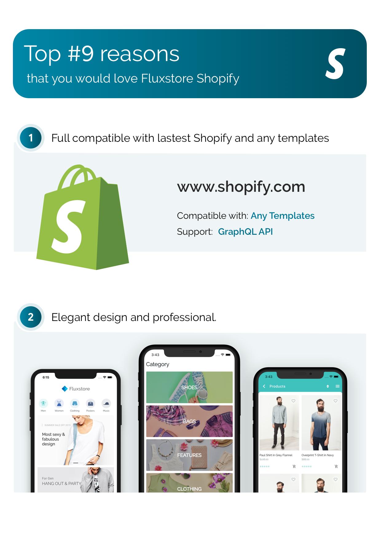 FluxStore Shopify - Die beste Flutter E-Commerce App - 2
