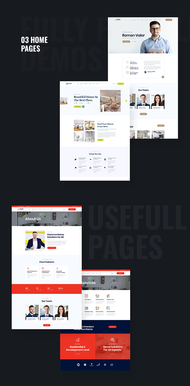 Bariel - Real Estate WordPress Theme - 2